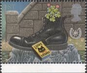 GB 1991 Greetings/ Good Luck/ Black Cat Matches/ Boot/ Horseshoe/ Fortune 1v (n30824d)