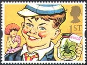 GB 1993 Greetings/ Animation/ Just William/ Spider/ Books/ Writers 1v (n30823)
