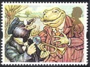 GB 1993 Greetings/ Animation/ Toad/ Mole/ Books/ Stories/ Animals 1v (n30826)