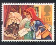 GB 1994 Greetings  /  Wolf  /  Red Riding Hood  /  Books  /  Stories  /  Tales  /  Animation 1v (b6283g)