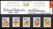GB 1994 Postcards  /  Holiday  /  Puppets  /  Animation Pack n30812