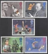 GB 1996 Television  /  TV  /  Children  /  HORSE  /  SPACE  /  SOOTY  /  Puppets  /  Cartoon 5v set (n18227)