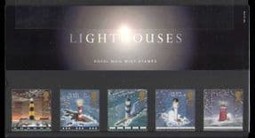 GB 1998 Lighthouses/ Maritime Safety/ Nautical/ Transport/ Buildings/ Architecture 5v Pack n22558