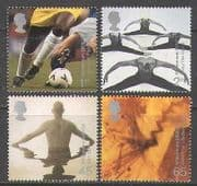 GB 2000 Millennium  /  Football  /  Dance  /  Sport 4v set (n22486)