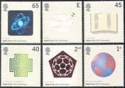 GB 2001 Dove/ Nobel Prize Centenary/ Book/ Peace/ Hologram/ Science/ Birds/ Nature 6v set (n18251)