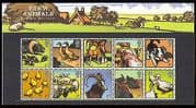 GB 2005 Birds  /  Animals  /  Pig  /  Horse  /  Dog  /  Cattle 10v blk Pack n30808