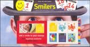 GB 2006 SMILERS/ Greetings/ Butterflies/ Fireworks/ Balloons/ Champagne 6v s/a bklt Pres Pack (n16206)