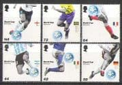 GB 2006 World Cup  /  FOOTBALL 6v set n16320