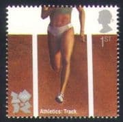 GB 2009 Sports  /  Olympics  /  Olympic Games  /  Athletics  /  Running  /  Track 1v (b7807h)