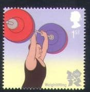 GB 2009 Sports  /  Olympics  /  Olympic Games  /  Weightlifting 1v (b7807d)
