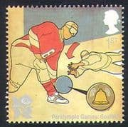 GB 2010 Sports  /  Olympics  /  Olympic Games  /  Goalball  /  Disabled  /  Paralympics 1v (b7810j)