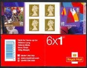 GB 2011 Olympics  /  Paralympics  /  Sports  /  Rugby  /  Sailing  /  Disabled 6v bklt (n32602)