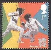 GB 2011 Sports  /  Olympics  /  Olympic Games  /  Fencing 1v (b7812b)