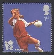 GB 2011 Sports  /  Olympics  /  Olympic Games  /  Handball 1v (b7812e)