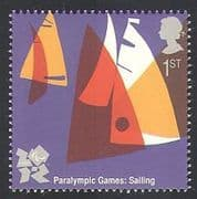 GB 2011 Sports  /  Olympics  /  Olympic Games  /  Sailing  /  Yachts 1v (b7812f)