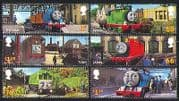 GB 2011 Thomas Tank Engine  /  Trains  /  Rail  /  Books 6v b8543i