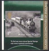 GB 2011 Trains  /  Steam Engine  /  Classic Locomotives  /  Railway  /  Rail  /  Transport 1v b8543s