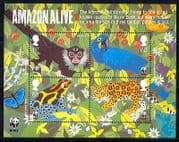 GB 2011 WWF  /  Monkey  /  Frog  /  Parrot  /  Cat  /  Animals m  /  s (n30303)