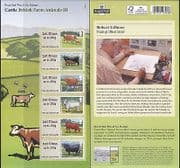 GB 2012 Cattle  /  Cows  /  Farm Animals  /  Farming  /  Nature  /  Animation 6v s  /  a ATM (n37232)