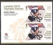 GB 2012 Olympics  /  Sport  /  Gold Medal Winners  /  B Wiggins  /  Cycling 2v + lbl s  /  a n35457a