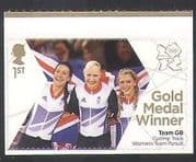 GB 2012 Olympics  /  Sport  /  Gold Medal Winners  /  Women's Pursuit  /  Cycling 1v s  /  a n35461