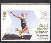 GB 2012 Olympics  /  Sports  /  Gold Medal Winner  /  G Rutherford  /  Athletics 1v s  /  a (n35456)
