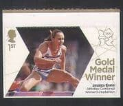 GB 2012 Olympics  /  Sports  /  Gold Medal Winner  /  Jessica Ennis  /  Athletics 1v s  /  a n35455