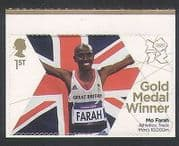 GB 2012 Olympics  /  Sports  /  Gold Medal Winner  /  Mo Farah  /  Athletics 1v s  /  a (n35454)