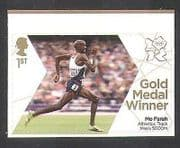 GB 2012 Olympics  /  Sports  /  Gold Medal Winners  /  Athletics  /  Mo Farah  /  5000m 1v (n35662)
