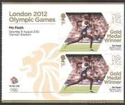 GB 2012 Olympics  /  Sports  /  Gold Medal Winners  /  Athletics  /  Mo Farah  /  5000m 2v + n35662a