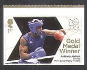 GB 2012 Olympics  /  Sports  /  Gold Medal Winners  /  Boxing  /  Anthony Joshua 1v s  /  a (n35665)
