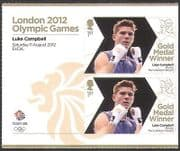 GB 2012 Olympics  /  Sports  /  Gold Medal Winners  /  Boxing  /  Luke Campbell 2v +  (n35664a)