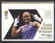 GB 2012 Olympics  /  Sports  /  Gold Medal Winners  /  Boxing  /  Nicola Adams 1v (n35661)