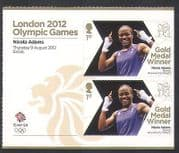 GB 2012 Olympics  /  Sports  /  Gold Medal Winners  /  Boxing  /  Nicola Adams 2v + lbl  n35661a