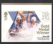 GB 2012 Olympics  /  Sports  /  Gold Medal Winners  /  Canoeing  /  Baillie  /  Stott 1v (n35465)