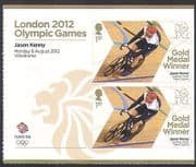 GB 2012 Olympics  /  Sports  /  Gold Medal Winners  /  Cycling  /  J Kenny  /  Bike 2v + lbl n35654a