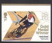 GB 2012 Olympics  /  Sports  /  Gold Medal Winners  /  Cycling  /  Jason Kenny  /  Bikes 1v (n35654)
