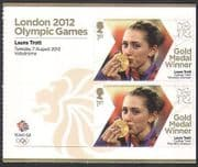 GB 2012 Olympics  /  Sports  /  Gold Medal Winners  /  Cycling  /  Laura Trott 2v + lbl (n35659)