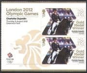 GB 2012 Olympics  /  Sports  /  Gold Medal Winners  /  Dressage  /  Dujardin 2v + lbl (n35655a)