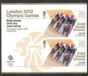 GB 2012 Olympics  /  Sports  /  Gold Medal Winners  /  Men's Sprint  /  Cycling 2v + lbl n35458a