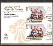 GB 2012 Olympics  /  Sports  /  Gold Medal Winners  /  Rowing  /  Glover  /  Stanning 2v + (n35464a)