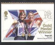 GB 2012 Olympics  /  Sports  /  Gold Medal Winners  /  Rowing  /  Grainger  /  Watkins 1v (n35466)