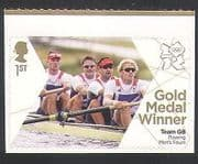 GB 2012 Olympics  /  Sports  /  Gold Medal Winners  /  Rowing  /  Men's Fours 1v (n35463)