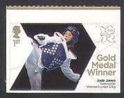 GB 2012 Olympics  /  Sports  /  Gold Medal Winners  /  Taekwondo  /  Jade Jones 1v (n35660)