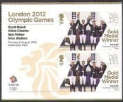 GB 2012 Olympics  /  Sports  /  Gold Medal Winners  /  Team GB  /  Equestrian 2v + lbl (n35656a)