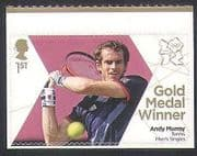 GB 2012 Olympics  /  Sports  /  Gold Medal Winners  /  Tennis  /  Andy Murray 1v (n35652)
