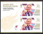 GB 2012 Paralympics  /  Olympics  /  Sports  /  Gold Medal Winners  /  H Frederiksen  2v n36304