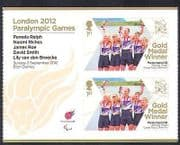 GB 2012 Paralympics  /  Olympics  /  Sports  /  Gold Medal Winners  /  Mixed Rowing  2v + n36335
