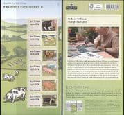 GB 2012 Pigs  /  Farm Animals  /  Farming  /  Nature  /  Animation 6v s  /  a ATM (b8680f)
