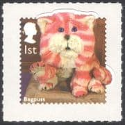 GB 2014 Bagpuss  /  Cats  /  Animals  /  Children's TV  /  Television  /  Puppets 1v s  /  a (b7387g)